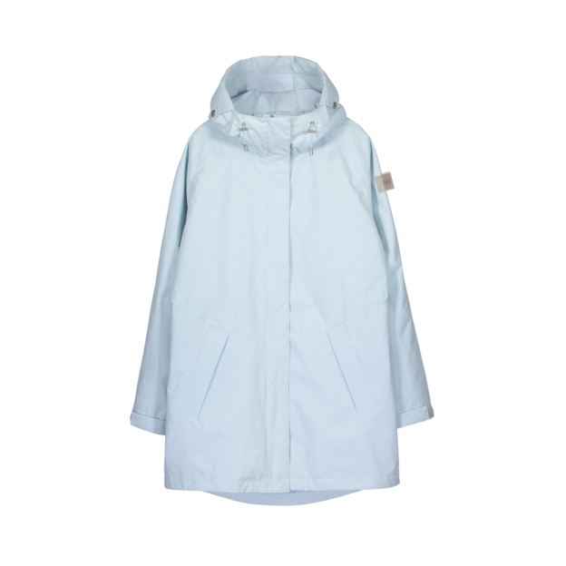Makia Women's Raglan Jacket Light Blue